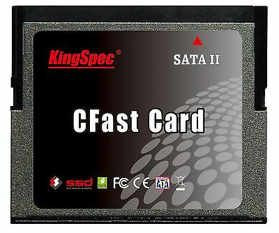64GB KingSpec CFast Memory Card 600X Speed Rating up to 277MB/sec KCF-SA.7-064MJ