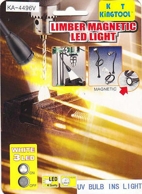 Flexible GOOSEE Neck Magnetic LED WORK-LIGHT , L = 10""