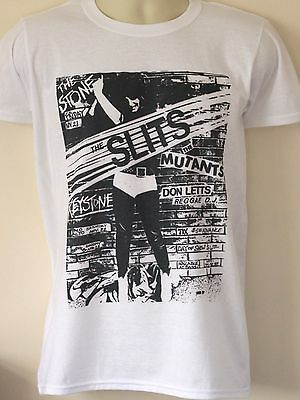 The Slits T-shirt Gig Flyer patti smith raincoats sleater kinney huggy bear l7