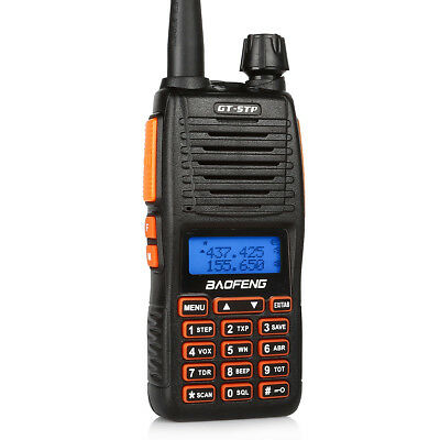Baofeng GT-5TP Tri-Power Tri-color 8W HP Dual PTT Kernel Upgrade Radio 2000MHA