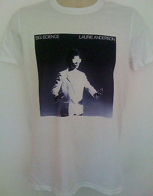 Laurie Anderson t-shirt big science brian eno lou reed phillip glass