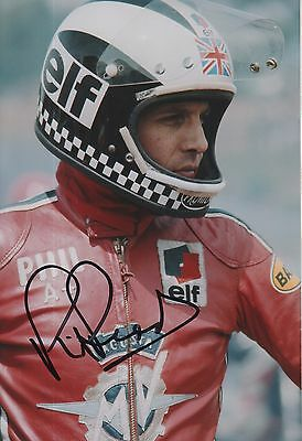 Phil Read Hand Signed 12x8 Photo MotoGP Isle of Man TT 4.