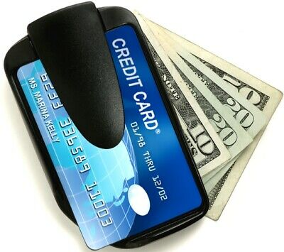WALLET MONEY CLIP Patented for Front Pocket