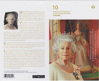 Canada 2013 BK538 #2644 - QEII 60th Anniversary of Coronation