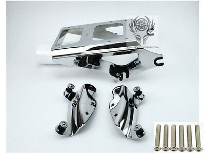 Tour Pak Luggage Rack W/ 4 Point Docking For Harley Street Glide Road King 09-13