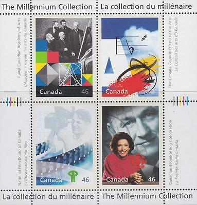 CANADA 2000 Millennium collection #1821 – 4 Canadian Talent - MNH