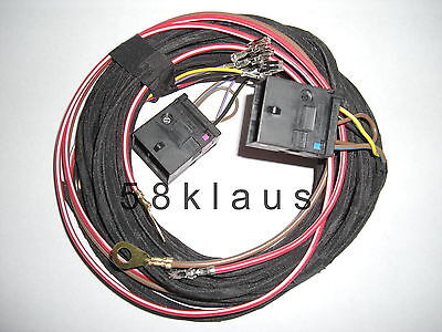 Audi S4 A4 B6 B7 8E Seat Heater heated seats adapter cable harness set
