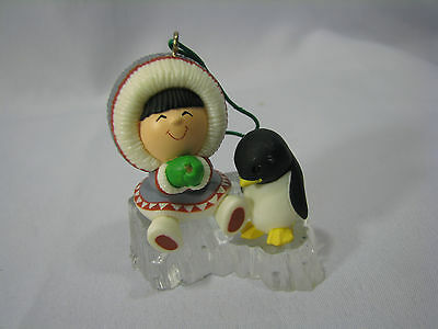 Hallmark 1984 Frosty Friends Ornament ~ 5th In The Series - Flaw - customize me