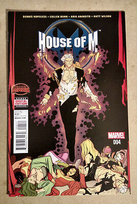 House Of M #4 - 1St Print Marvel Comics (2015) Secret Wars X-Men Avengers