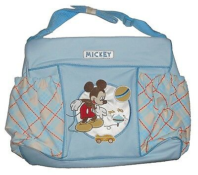 Disney Baby Large Nappy Character Themed Bag (Mickey2 (Blue)). Free Delivery