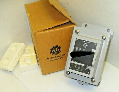 NEW ALLEN BRADLEY 600-TCX4 MANUAL MOTOR STARTER 600V 1-Pole  *** NEW IN BOX ***