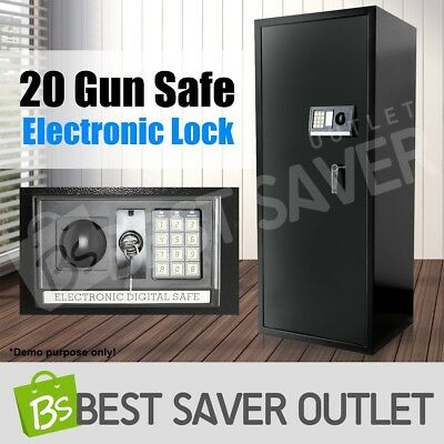 Heavy Duty 20 Rifle Gun Safe Cabinet Storage Lockbox Firearm Steel Electronic
