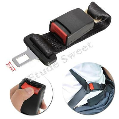UK 36cm Adjustable Auto Car Seat Belt Extension Extender Safety Support Buckles