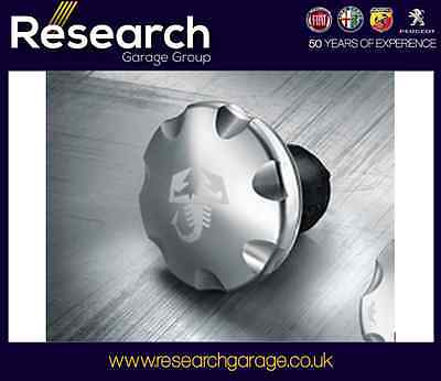 Genuine New Abarth 500 Grande Punto Scorpion Fuel Cap in Aluminium 5743870