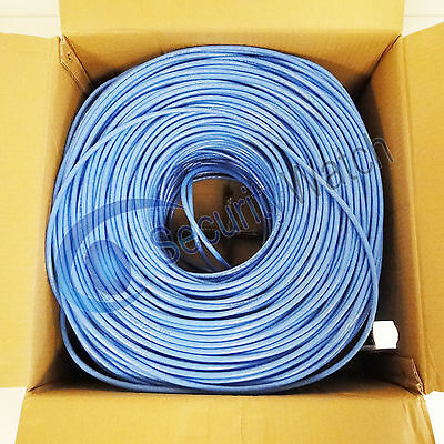 305 Meter 4 Twisted Pair UTP CCA CAT 6 Ethernet Network LAN Cable