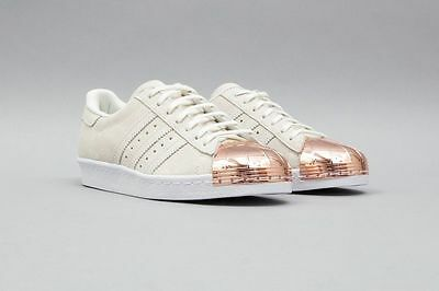 8bb3bef2a89c6a ADIDAS WMNS SUPERSTAR 80S Metal-Toe White S75057 Us Womens Sz 5-11 ...