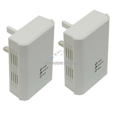200Mbps HomePlug Set Networking via household wires simple connect 5min set-up