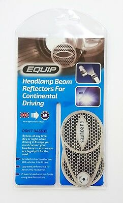 Headlight Beam Deflectors Eurolites by Equip - Headlamp Converters Reflectors