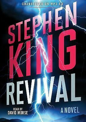 REVIVAL unabridged audio book on MP3 CD by STEPHEN KING (13 Hours)
