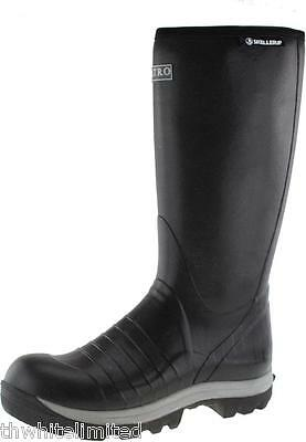 Skellerup Wellingtons Insulated Quatro Wellie Size 4-14 (Ch)