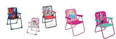 Toddler's Boys Or Girls Patio Chairs Multiple Disney Characters New With Tag