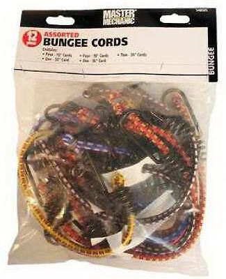 Trade Of Amta Dba Boxer Tools MM41 12-Pack Assorted Bungee Cords