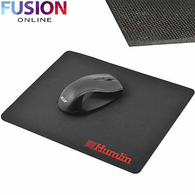 Black Mouse Mat Pad Neoprene Gel Slim Square Mouse Pad For Pc Optical Laser Mice