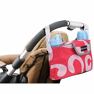 STARCARE Stroller Organizer Oxford Cloth Bag Half Clamshell Lifting Hanging Back