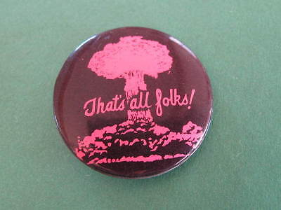 Anti Nuclear 60s 70s Political Badge