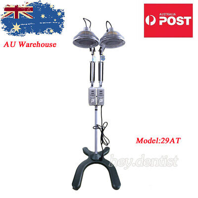 2x250W Adjustable TDP Lamp Light Floor Standing Infrared Heat Therapy Device