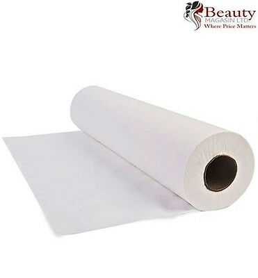 "PROFESSIONAL WHITE PAPER COUCH ROLL 20"" 2PLYX40M FREE P&P 1/2/3/4 Qty"
