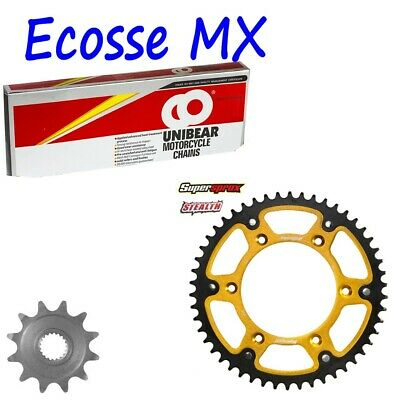 Vehicle Parts & Accessories Yamaha Motocross YZ125 J-K 1997-1998 Heavy Duty Chain And Sprocket Kit