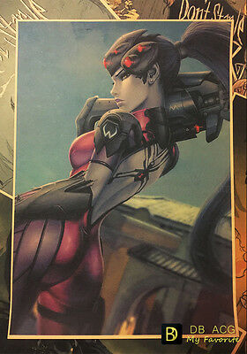 Overwatch Widowmaker Sexy Vintage Style Home Decor Poster Wall Painting 42*29.7