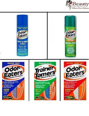 Odor-Eaters Ultra/Tuff/Tamers Deodorising And Spray 150ml