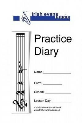 Practice Diary: For School Instrumental Lessons by Mrs Trish Evans