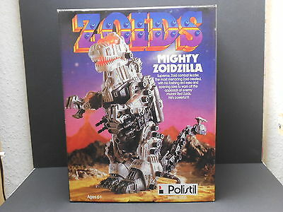 Zoids Super Mighty Zoidzilla * Polistil * never used * OVP *