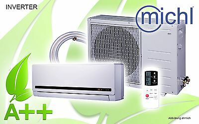 Michl Inverter Single-Split Klimagerät, Klimaanlage, 12000 BTU, 3,5 kW, A++