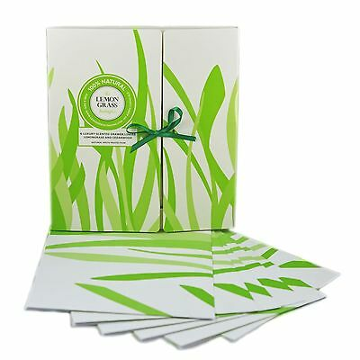 Drawer Liners Scented Lemongrass|Cedar Wood Fragrance Natural Moth Repellent x 6