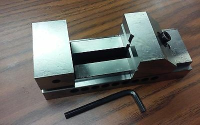 "2-1/2""x7"" TOOL MAKER'S PRECISION SCREWLESS VISE #705-025 - NEW"