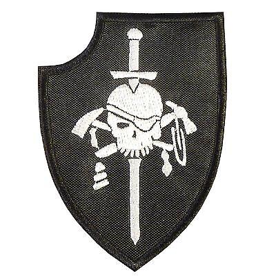 kopfjager silver squadron ST6 DEVGRU embroidered morale navy sew iron on patch