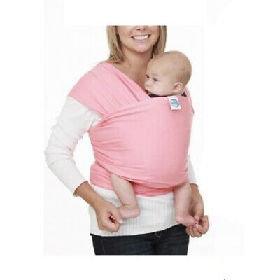 Ergonomic Baby Sling Stretchy Wrap Baby Carrier Backpack Breastfeeding Pink