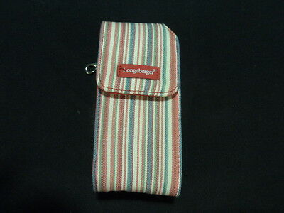 Longaberger Homestead Red Stripe Cell Phone Case