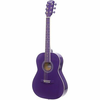 "New Darling Divas DDPKG02PU 36"" Steel String Acoustic Guitar Pack, Purple Haze"