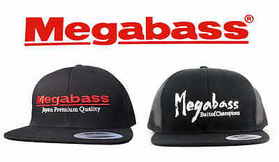 MEGABASS LOGO SNAPBACK HATS select colors