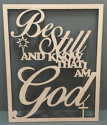 S154 RELIGIOUS GOD CHRISTIAN CHRIST JESUS Wood MDF Plaque Sign Laser Cut Gift