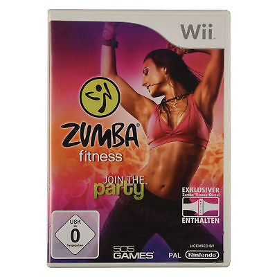 Nintendo Wii Spiel - Zumba Fitness Join The Party (13)