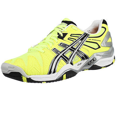 Asics Gel Resolution 5 Ltd Edition Tennis Shoe Also For Padel / Squash Gym