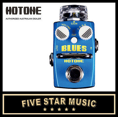 Hotone Blues Overdrive Guitar Effects Pedal Ho-Blues - New In Box