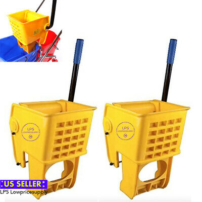 Lot of 2 Lavex Replacement Mop Bucket Wringer Commercial Janitorial Mop Buckets