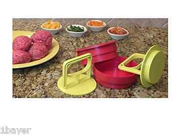 "Burger Home Kitchen Restaurant Dinner Bar 4"" Pocket Cookware Meat Stuffed Press"